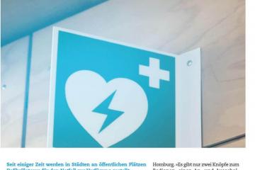 Erste Hilfe mit dem Defibrillator